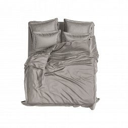 Set Royal Cotton Sateen Cold Grey