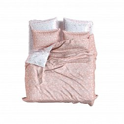 Set Lux Double Face Jacquard Modal Provance Peach